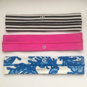 THREE Lululemon Headbands!!